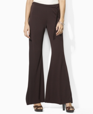 Lauren by Ralph Lauren Pants, Bonny Wide Leg Matte Jersey
