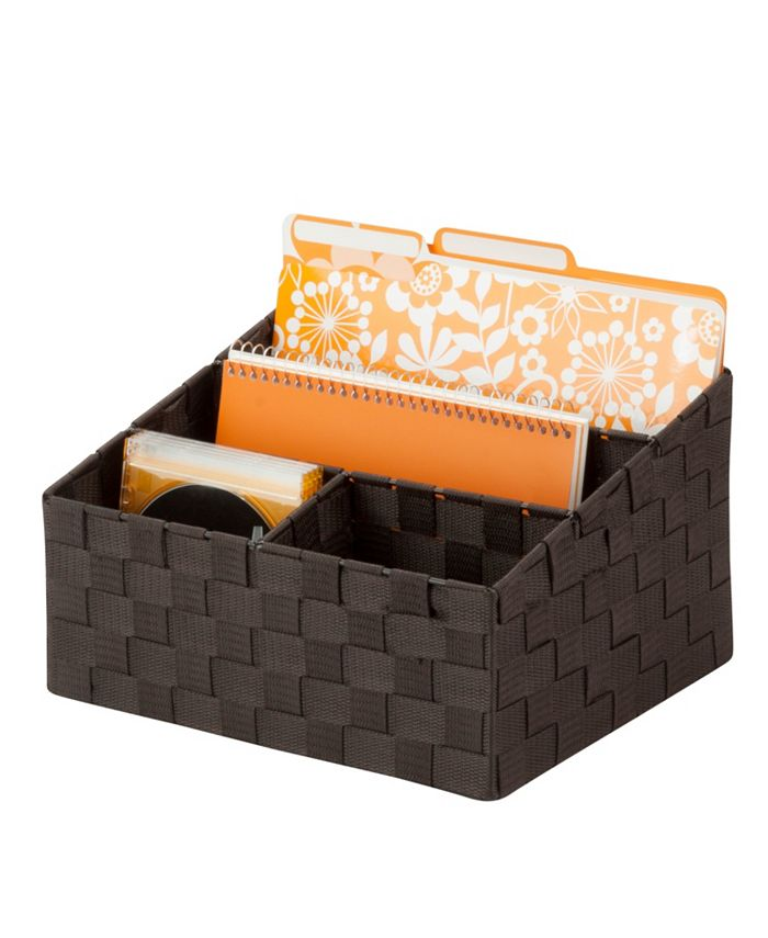 Honey Can Do - Mail and File Desk Organizer