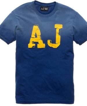 Armani Jeans T Shirt, AJ Logo T Shirt