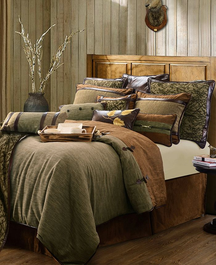 HiEnd Accents - 4-PC Highland Lodge Collection, Twin