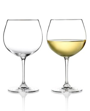 Closeout! Riedel Wine Glasses, Set of 2 Vinum Montrachet & Chardonnay