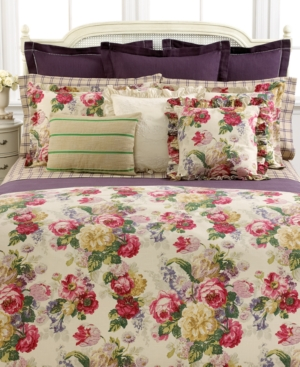 Lauren by Ralph Lauren Bedding, Surrey Garden Full/Queen Blanket Bedding