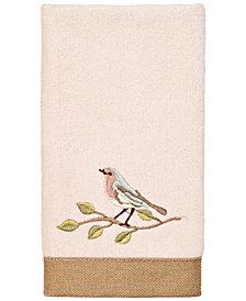 Avanti Bird Choir II Fingertip Towel
