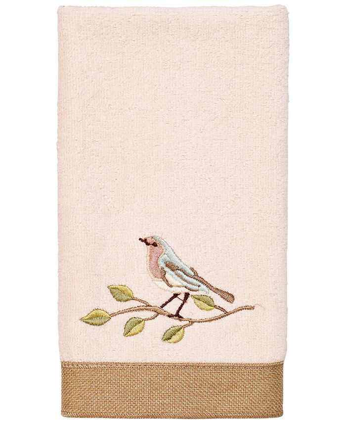 Avanti - Bird Choir II Fingertip Towel