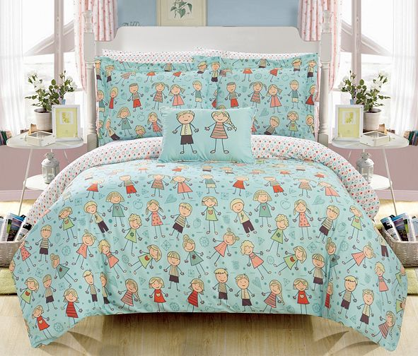 Chic Home Woodland 6 Piece Twin Bed In a Bag Comforter Set