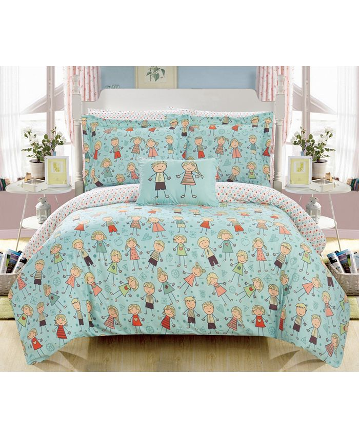 Chic Home - Woodland 8-Pc. Bed In a Bag Comforter Sets