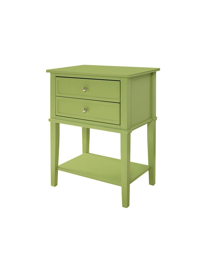 Ameriwood Home - Cottage Hil Accent Table with 2 Drawers