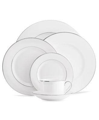 Dinnerware, Blanc sur Blanc Sugar Bowl