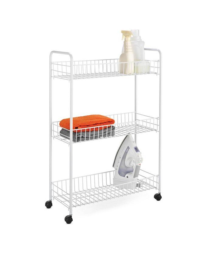 Honey Can Do - 3-Tier Laundry Cart
