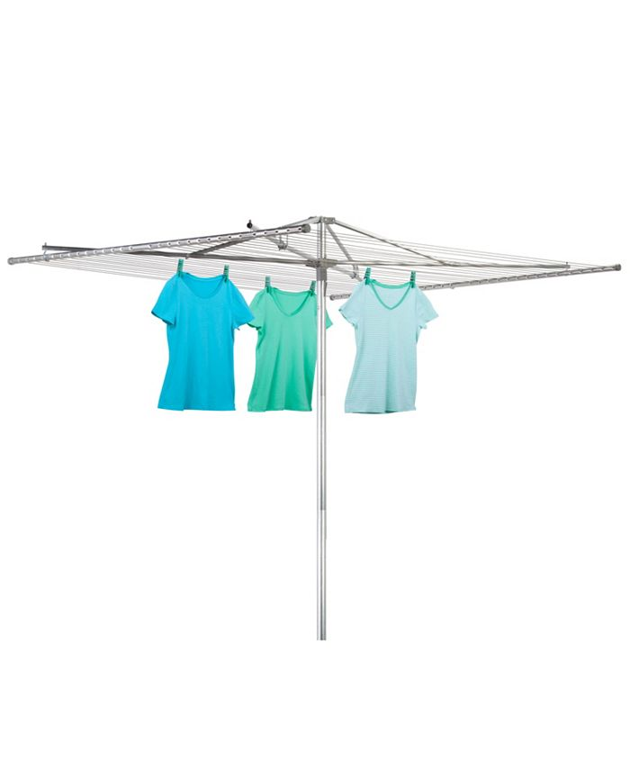 Honey Can Do - 210-Foot Outdoor Umbrella Drying Rack