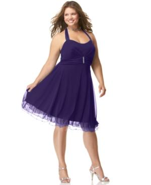 Turmec » plus size summer halter dresses