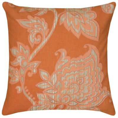 """18"""" x 18"""" Floral Pillow Cover"""
