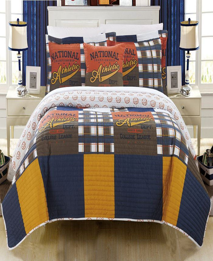 Chic Home - Champion 4-Pc. Quilt Sets