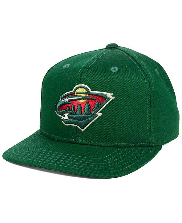 Outerstuff Boys' Minnesota Wild Constant Snapback Cap
