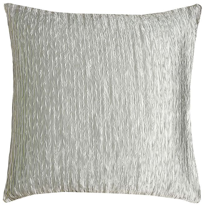 """Rizzy Home 18"""" x 18"""" Striped Down Filled Pillow"""