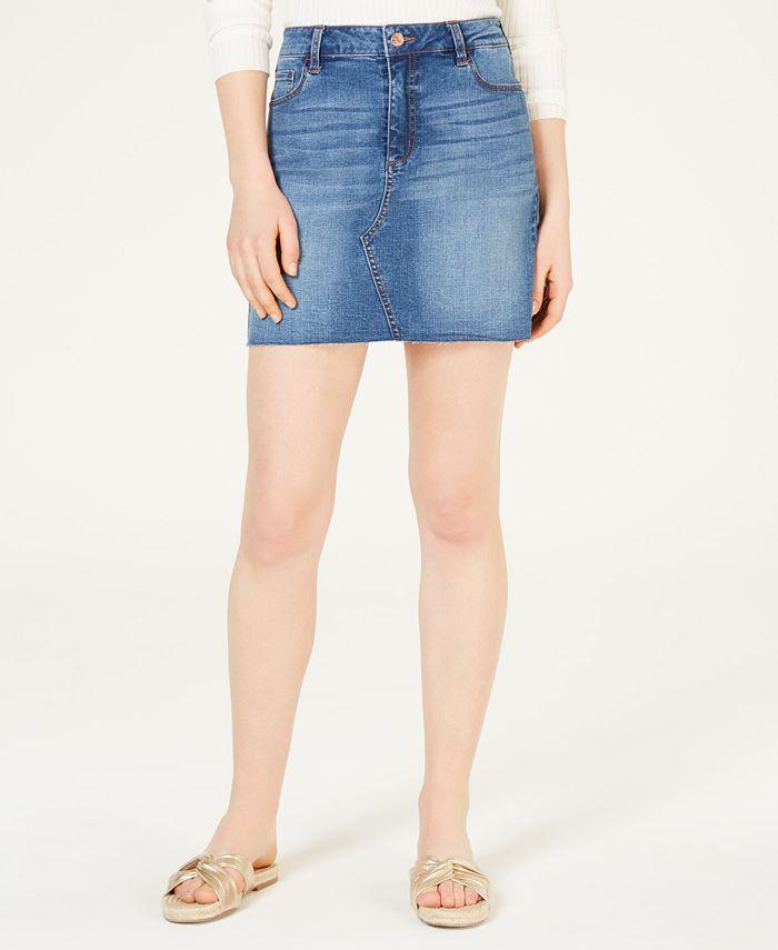 Celebrity Pink - Juniors' Denim Mini Skirt
