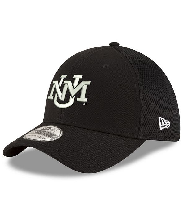 New Era New Mexico Lobos Black White Neo 39THIRTY Cap