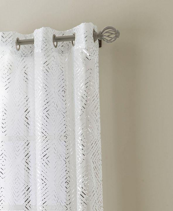 Nanshing Prisma Semi Sheer Grommet Curtain Panel Pair