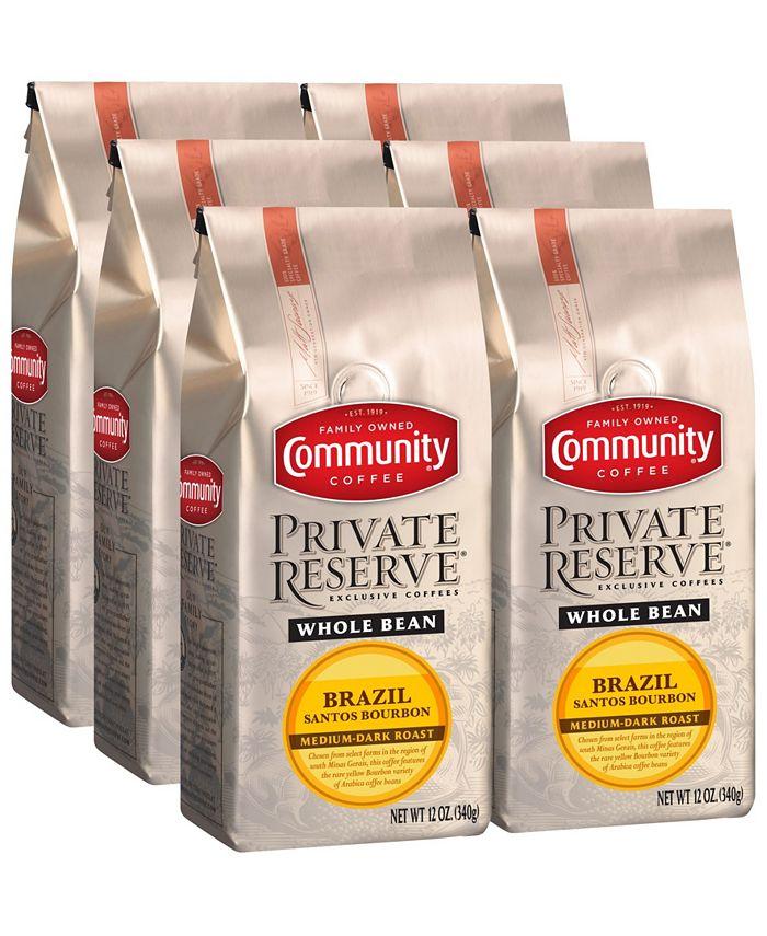 Community Coffee - CS-6: 12 OZ WB PR BRAZ SNT