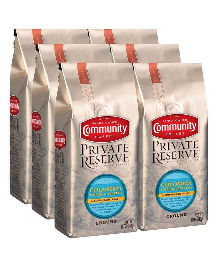 Community Coffee - CS-6: 12 OZ GRD PR COL TOL