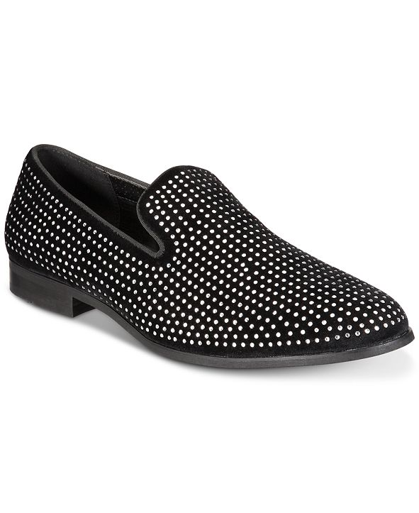 INC International Concepts INC Men's Wyatt Crystal Loafers, Created for Macy's