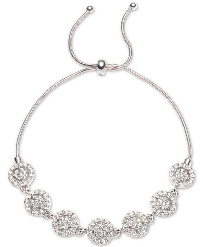 Givenchy - Crystal Halo Slider Bracelet