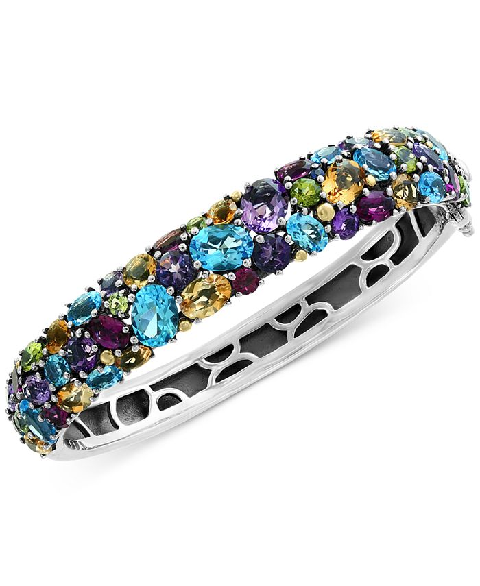 EFFY Collection - Multi-Gemstone (25-1/2 ct. t.w.) Bangle Bracelet in Sterling Silver