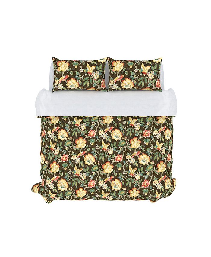 Colorfly Tess Duvet Cover Set King Mahogany Reviews Duvet Covers Bed Bath Macy S