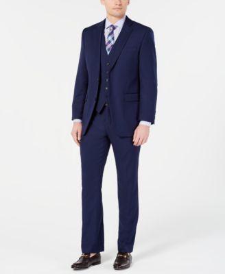 Men's Portfolio Slim-Fit Stretch Suit Vests