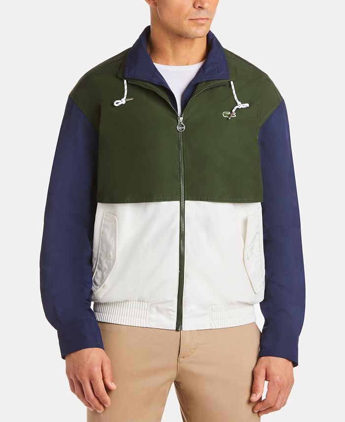 Lacoste - Men's Lightweight Colorblocked Jacket