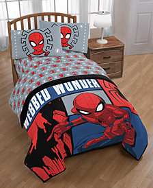 Marvel Spiderman Webbed Wonder 4-Pc. Twin Bed in a Bag