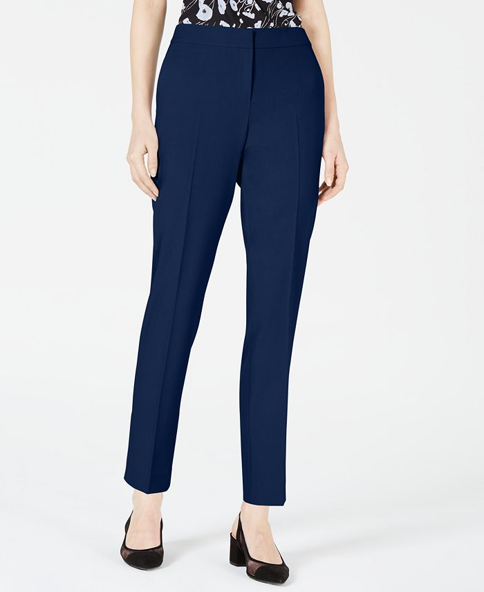 Bar III - Bi-Stretch Straight-Leg Pants
