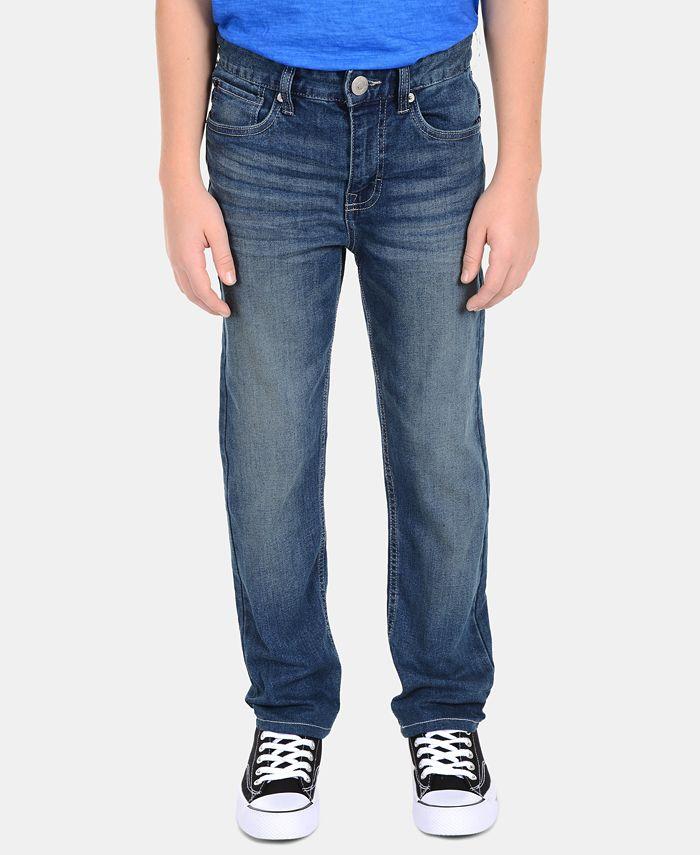 Calvin Klein - Big Boys Skinny-Fit Denim Jeans