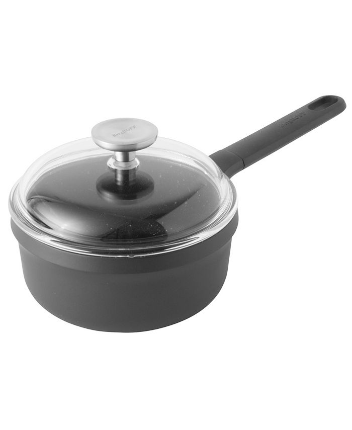 "BergHOFF - GEM Cast Alum 7"" Non-Stick Covered Sauce Pan 1.9qt"