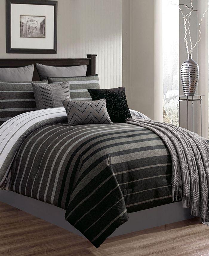 Riverbrook Home - Barkley 10 PC Queen Comforter Set