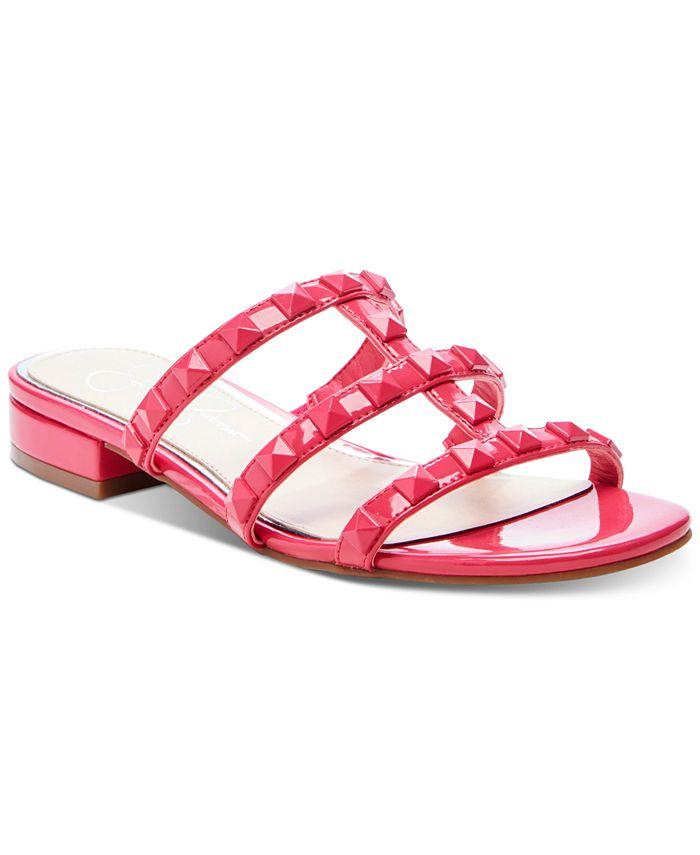Jessica Simpson - Caira Studded Flat Sandals
