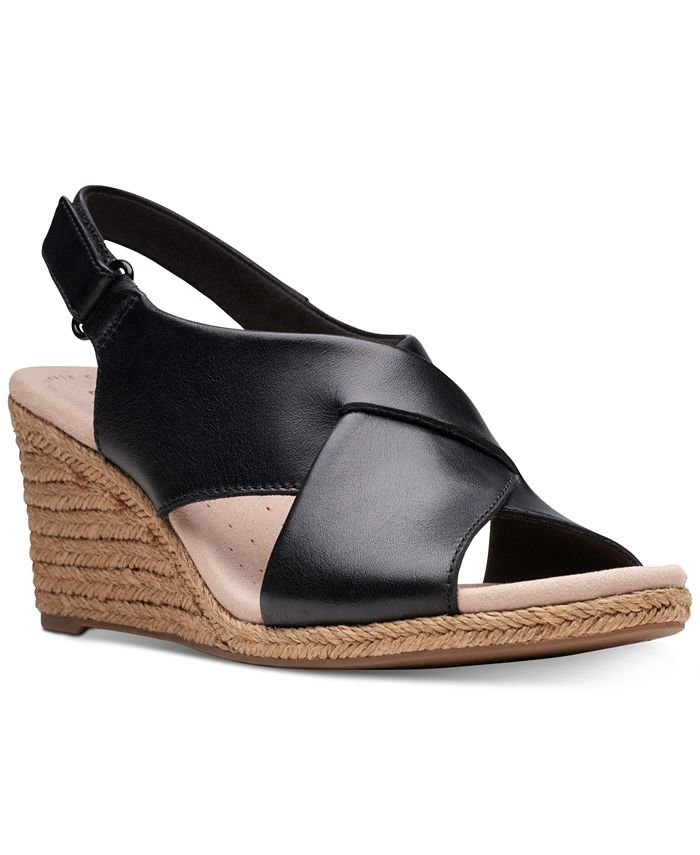 Clarks - Women's Lafely Alaine Wedge Sandals