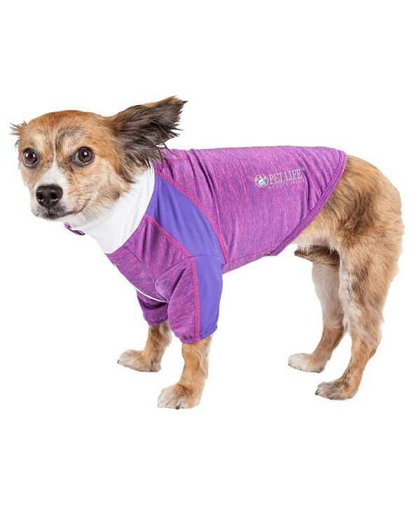 Pet Life Central Pet Life Active 'Chewitt Wagassy' Performance Long Sleeve Dog T-Shirt