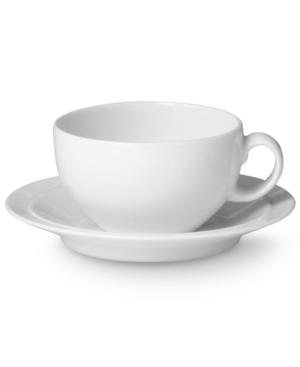 Denby Dinnerware, White Saucer