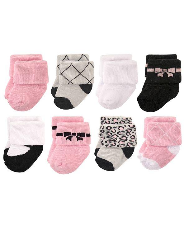 Hudson Baby Socks, 8-Pack, 0-12 Months
