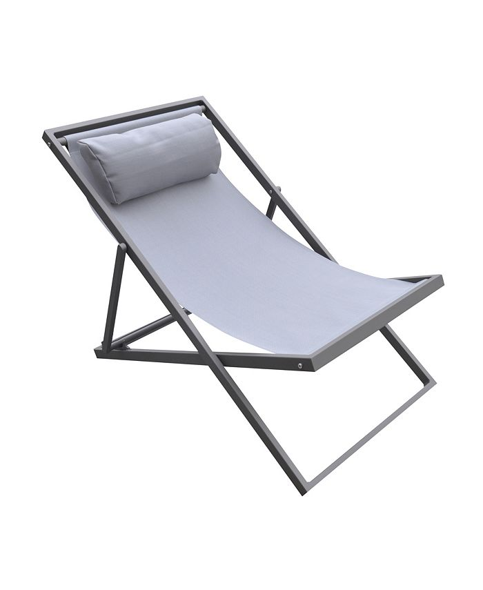 Armen Living - Wave Outdoor Patio Chair, Quick Ship
