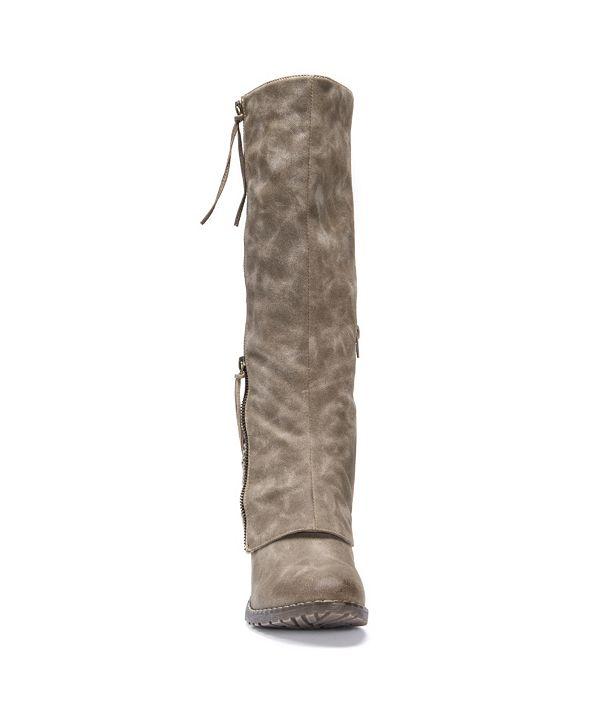 Muk Luks Lacy Boots