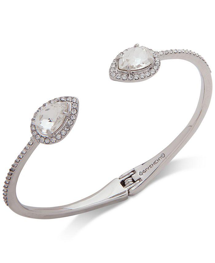 Givenchy - Crystal & Stone Cuff Bracelet