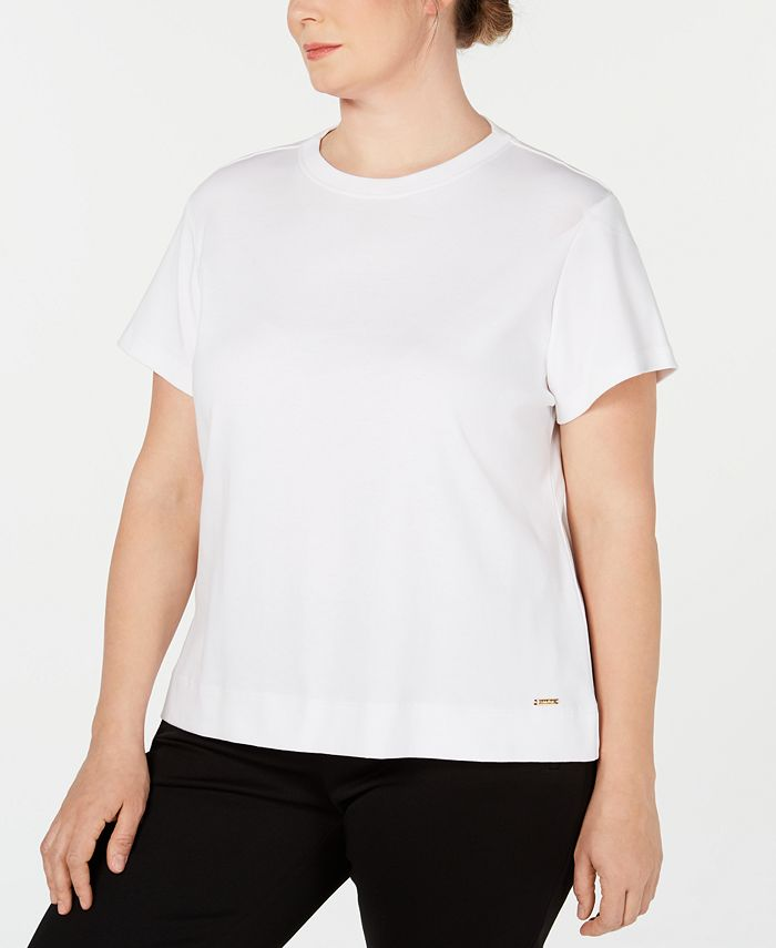 Calvin Klein - Plus Size Cotton T-Shirt