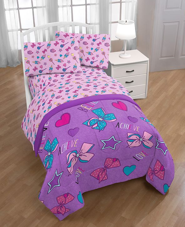 Jojo Siwa Nickelodeon Dream Believe Twin Comforter