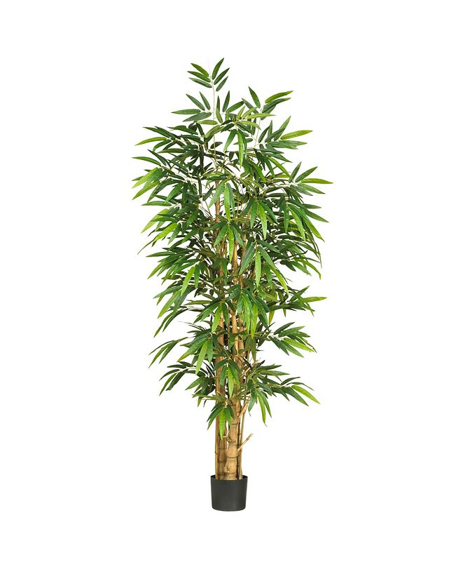 Nearly Natural 6' Belly Faux Silk Tree