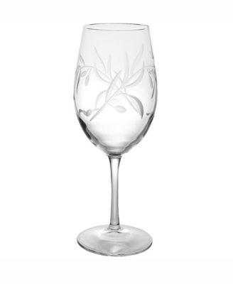 Olive All Purpose Wine Glass 18Oz