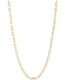 """CHARMBAR™ Link Chain Necklace, Adjustable 16"""" - 20"""""""