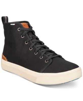 TRVL LITE High-Top Canvas Sneakers