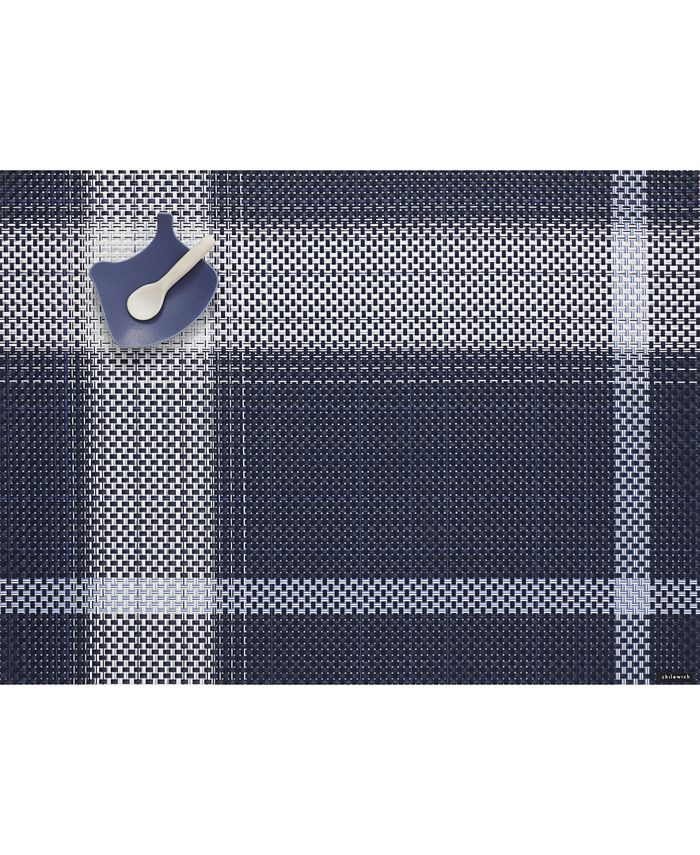 "Chilewich - Beam Midnight 14"" x 19"" Placemat"